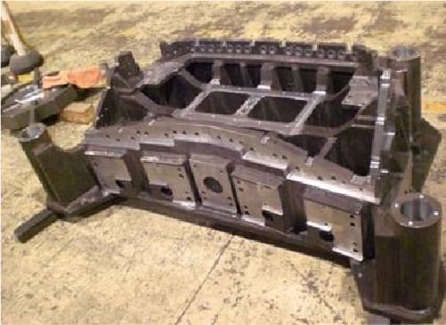 大物機械加工(5面加工機によるNC加工)