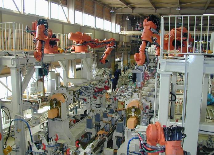 Main Body Assembly Line